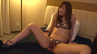 Off colour underthings asian babe Sucking Cock fucked hard