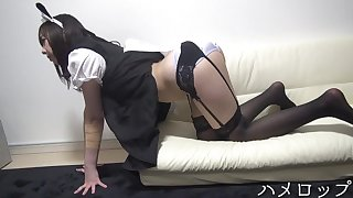 Japanese girl 29 maid cosplay