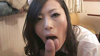 Hardcore Waitress Scene 1 with Mai Mizusawa