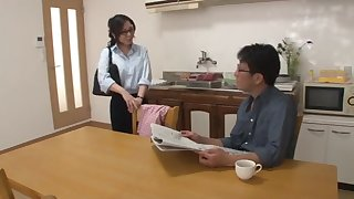 Japanese Number one Wife Fucked On Omnibus In Front Cuckold Husband