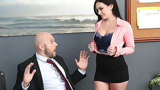 Getting Her Husband A Raise