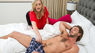 Hot Milf Lilly James craves young cock