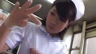 japanese nurse hand job