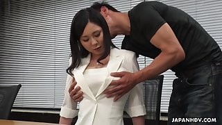 Simmering interview for job ends up with steamy reverend be captivated by with Miyuki Ojima